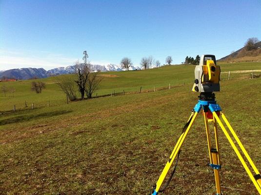 Rilievi topografici GPS e piani quotati